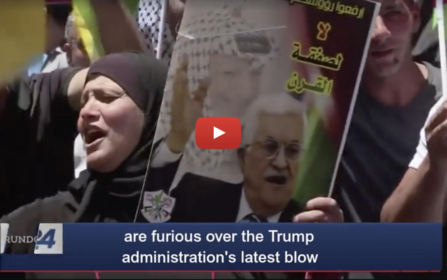 """Palestinian"" Arabs Call President Trump's Closing PLO Office ""Declaration of War"""