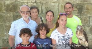 Prof. Kazhdan + Family